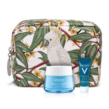 Vichy Aqualia Thermal Rich Cream 50ml & Mineral 89 Probiotic 5ml