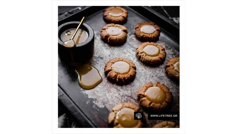 Mπισκότα καραμέλας χωρίς ζάχαρη, χαμηλών υδατανθράκων, χωρίς γλουτένη!