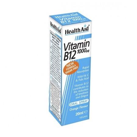 HEALTH AID VITAMIN B12 SPRAY 20ml