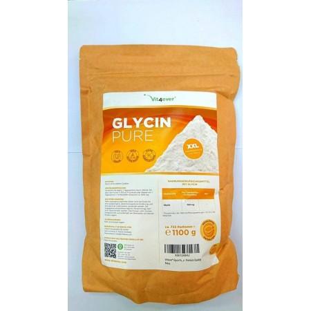 VIT4EVER GLYCIN PURE 1100GR POWDER