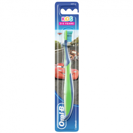 Oral-B Kids Παιδική Οδοντόβουρτσα Soft 3-5 Χρονών 1 Τμχ (DISNEY CARS)