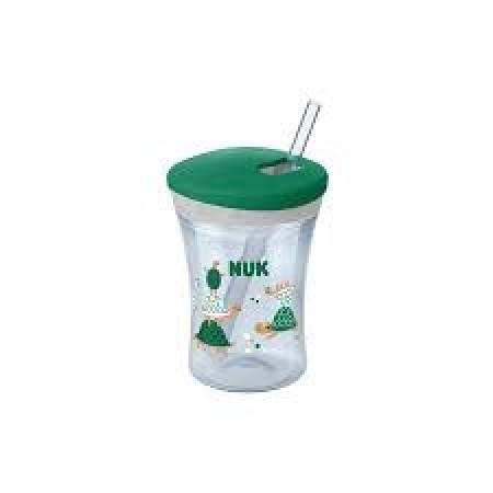 NUK CUP EVOLUTION ACTION NEUTRAL (με καλαμάκι)