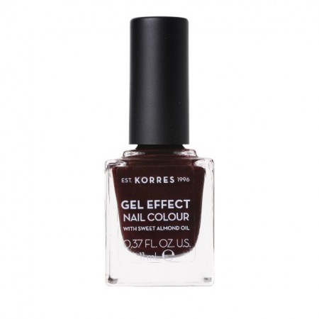KORRES SWEET ALMOND NAIL COLOUR 54 FEST RED 11ML